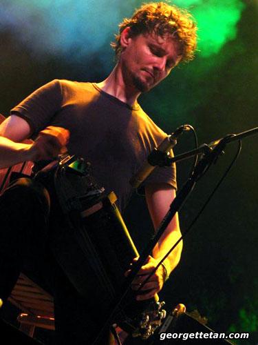 HURDY GURDY MAN: A musician at the 2005 Rainforest World Music Festival. (© Georgette Tan, 2005)