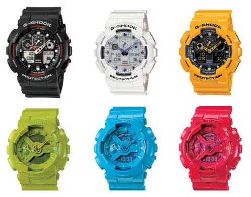 Lineup. G-SHOCK toughness in a cute, feminine design. Water resisitance in a design that stand up to dropping and other rough treatment.