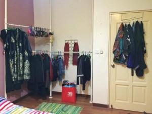 The hanging wardrobe (May 2015)